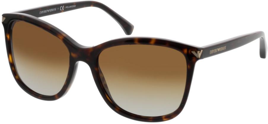 Picture of glasses model Emporio Armani EA4060 5026T5 56-18 in angle 330