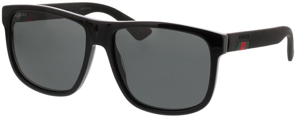 Picture of glasses model Gucci GG0010S-001 58-16