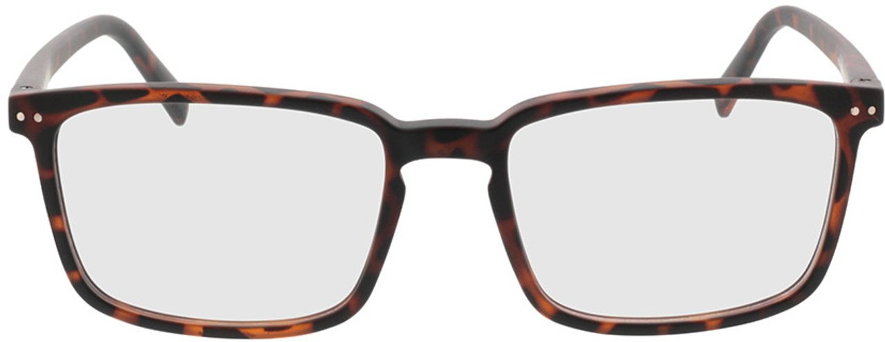 Picture of glasses model Salix-braun-meliert in angle 0