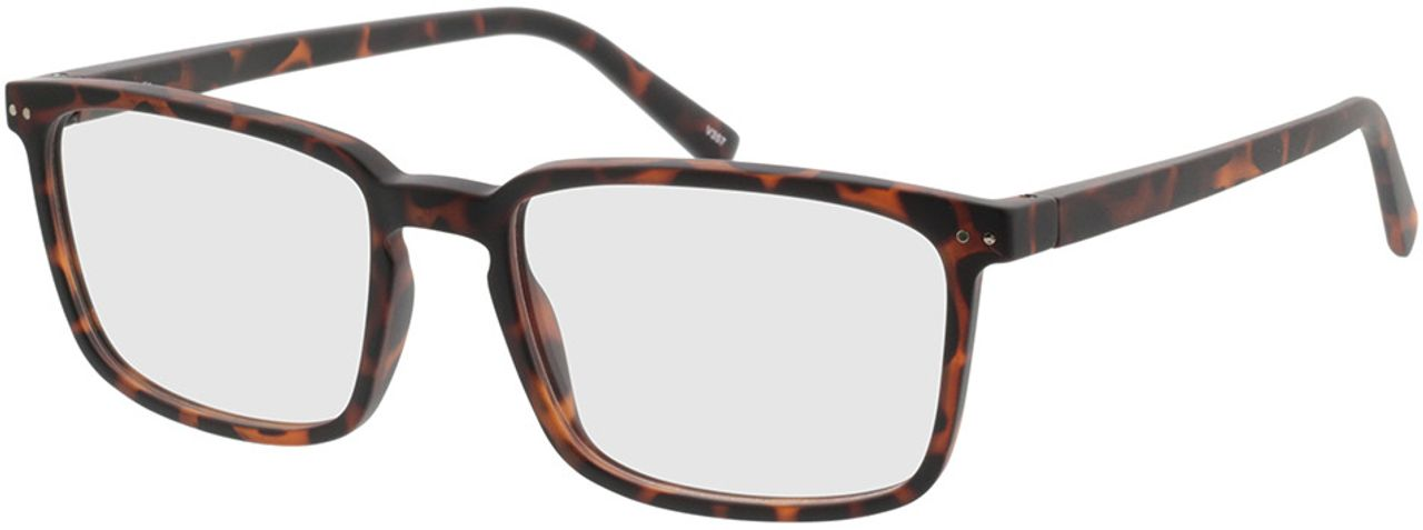 Picture of glasses model Salix-braun-meliert in angle 330