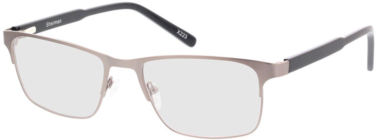Picture of glasses model Sherman-anthrazit/matt schwarz in angle 330