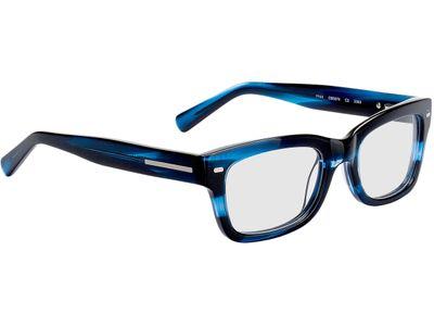 Brille Georgetown-blau/schwarz-meliert