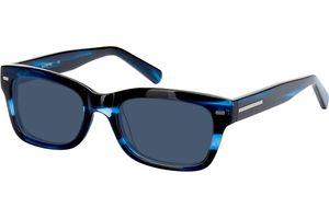 Georgetown-blau/schwarz-meliert