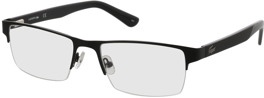 Picture of glasses model Lacoste L2237 002 53-18 in angle 330