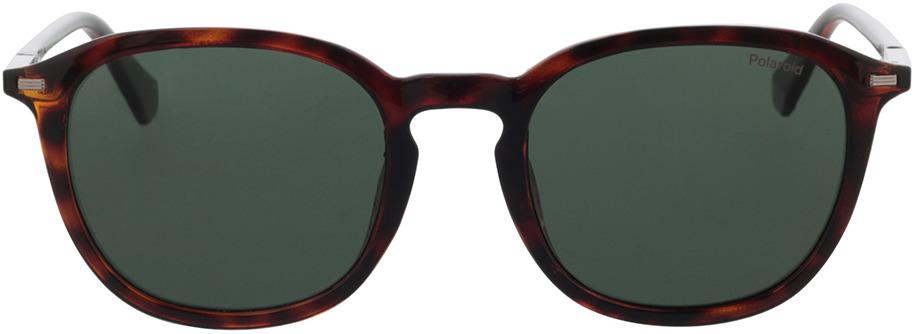 Picture of glasses model Polaroid PLD 2115/F/S 086 54-21 in angle 0