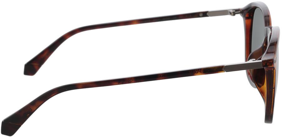 Picture of glasses model Polaroid PLD 2115/F/S 086 54-21 in angle 90