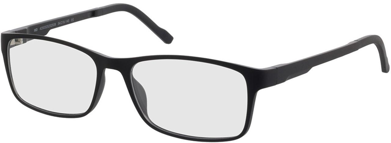 Picture of glasses model Köln-black in angle 330