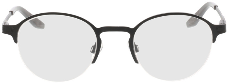 Picture of glasses model Nino-matt schwarz in angle 0