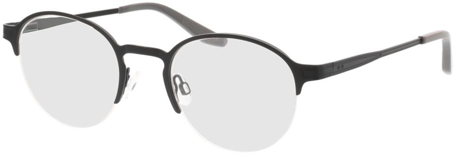 Picture of glasses model Nino-matt schwarz in angle 330