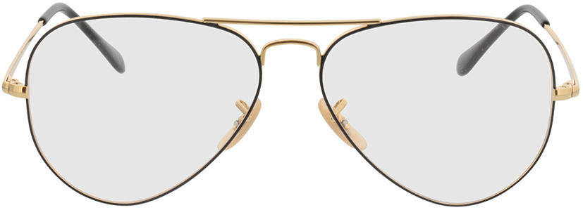 Picture of glasses model Ray-Ban Aviator RX6489 2946 58-14 in angle 0