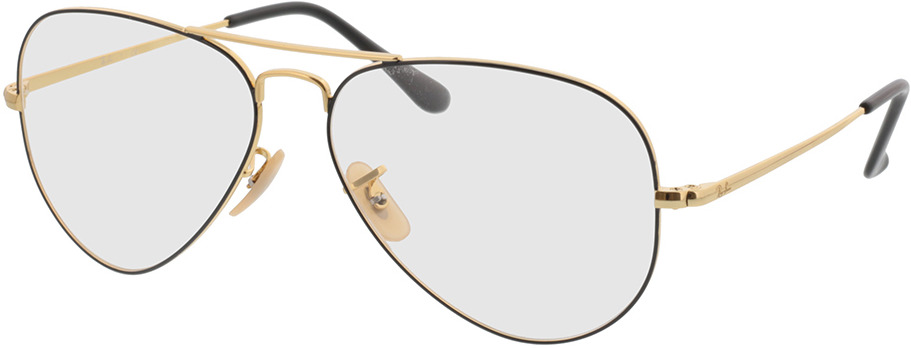 Picture of glasses model Ray-Ban Aviator RX6489 2946 58-14 in angle 330