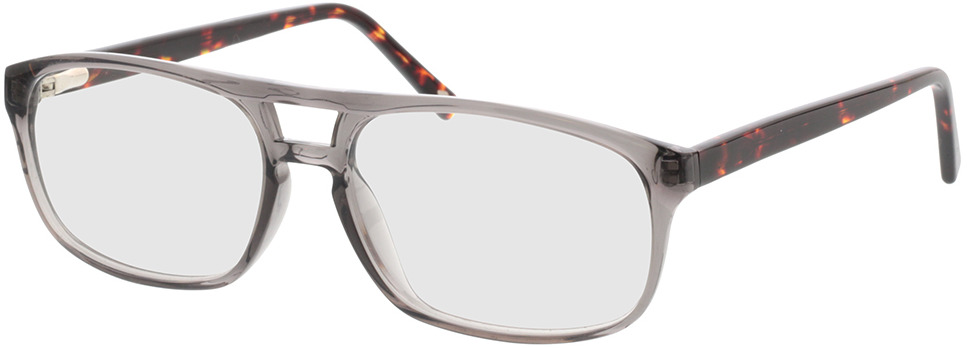 Picture of glasses model Carlo-transparent grau  in angle 330