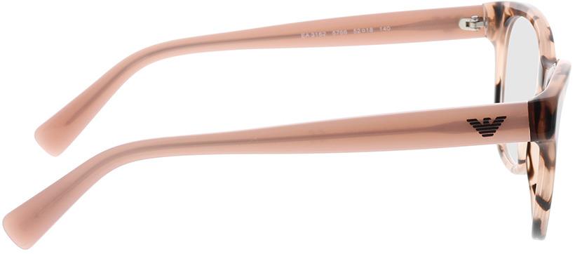 Picture of glasses model Emporio Armani EA3162 5766 52-18 in angle 90
