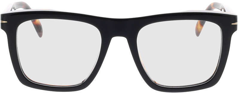 Picture of glasses model David Beckham DB 7020 WR7 51-20 in angle 0