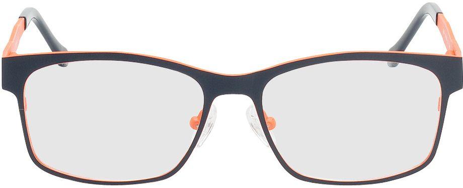 Picture of glasses model Tumba-blue-orange in angle 0