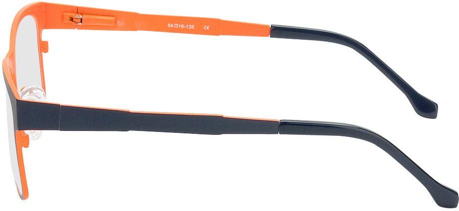 Picture of glasses model Tumba-blue-orange in angle 270