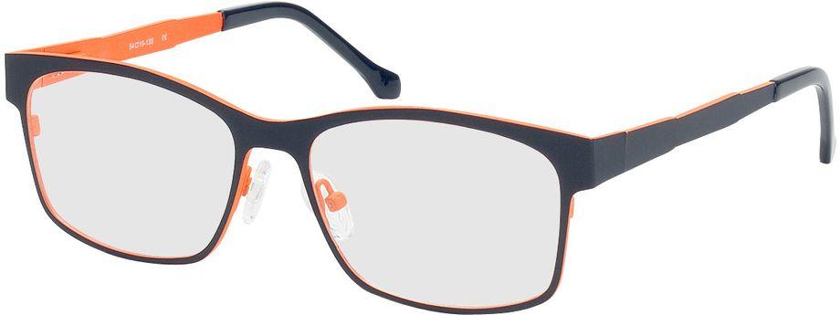 Picture of glasses model Tumba-blue-orange in angle 330