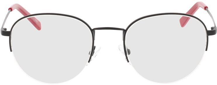 Picture of glasses model Zoe-schwarz in angle 0