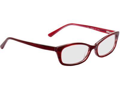 Brille Braga-burgunderrot-meliert
