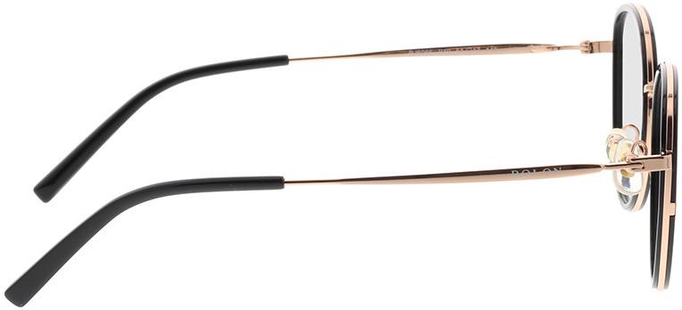 Picture of glasses model Bolon BJ6066 B10 51-17 in angle 90