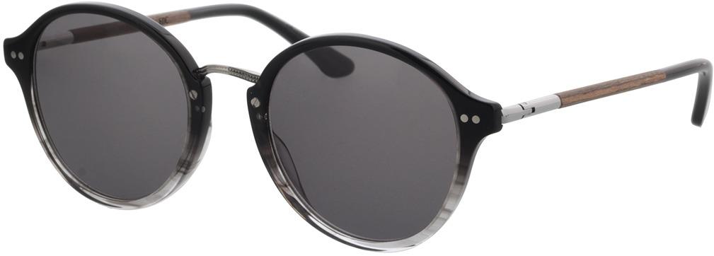 Picture of glasses model Wood Fellas Sunglasses Etic macassar/black-grey 50-21 in angle 330