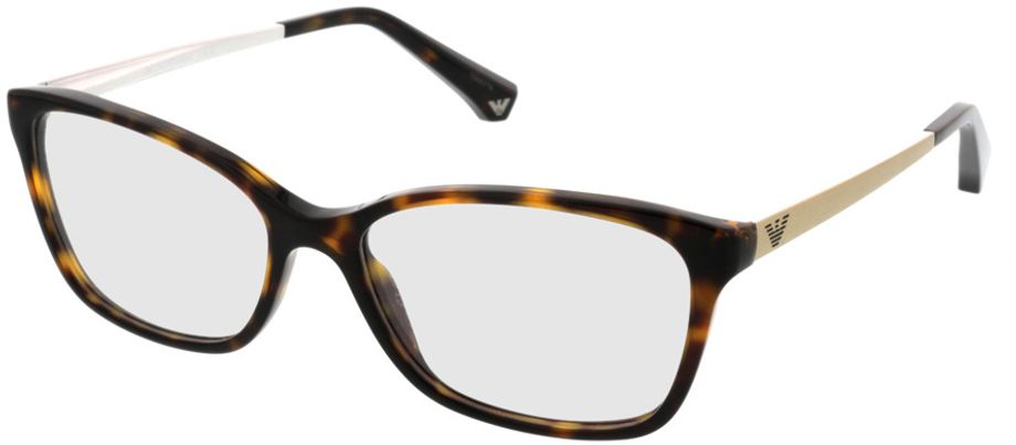 Picture of glasses model Emporio Armani EA3026 5026 52-15 in angle 330