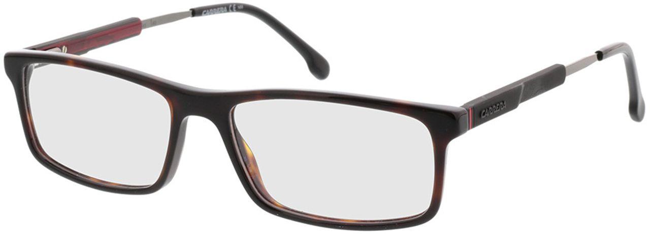 Picture of glasses model Carrera CARRERA 8837 086 55-17 in angle 330