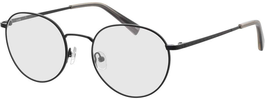 Picture of glasses model Lucas-schwarz in angle 330