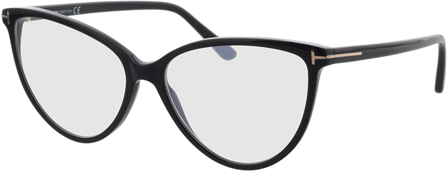 Picture of glasses model Tom Ford FT5743-B 001 57-15 in angle 330