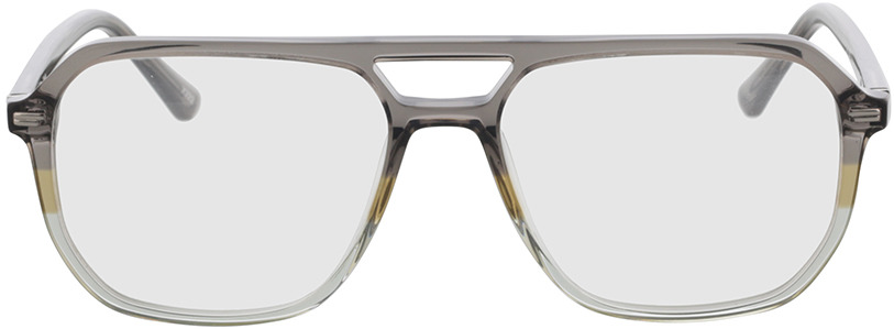 Picture of glasses model Clyde grijs/groen in angle 0