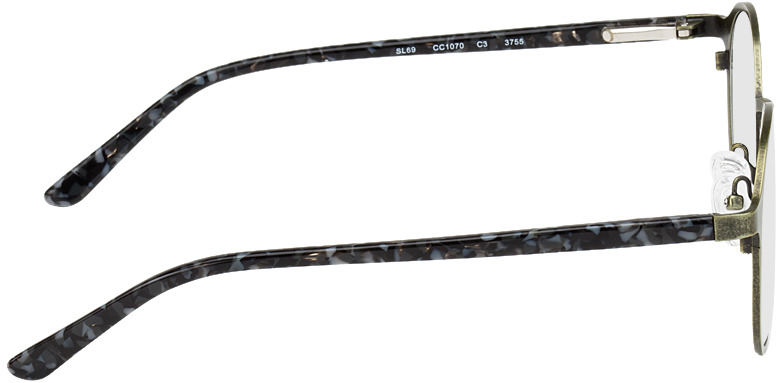 Picture of glasses model Sintra green/black/mottled in angle 90