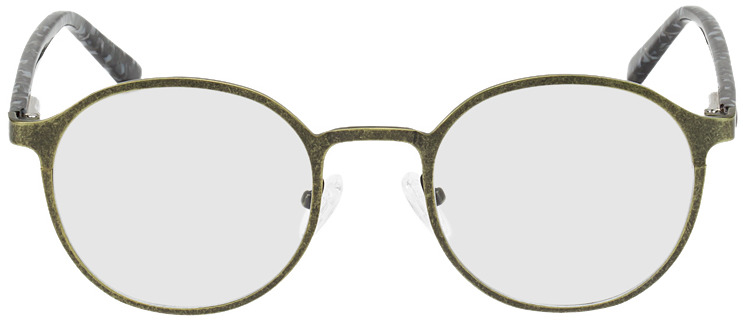 Picture of glasses model Sintra green/black/mottled in angle 0