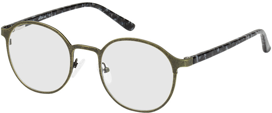 Picture of glasses model Sintra green/black/mottled in angle 330