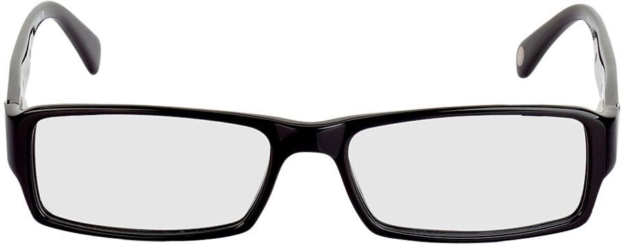 Picture of glasses model Sligo black/silver in angle 0