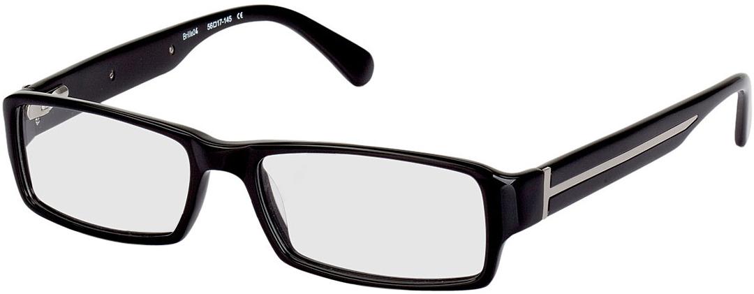 Picture of glasses model Sligo black/silver in angle 330
