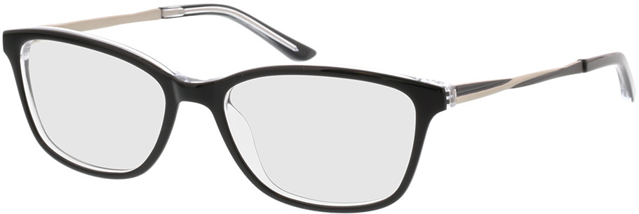 Picture of glasses model Rosalie-schwarz/anthrazit in angle 330