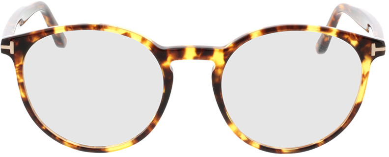 Picture of glasses model Tom Ford FT5524 053 in angle 0