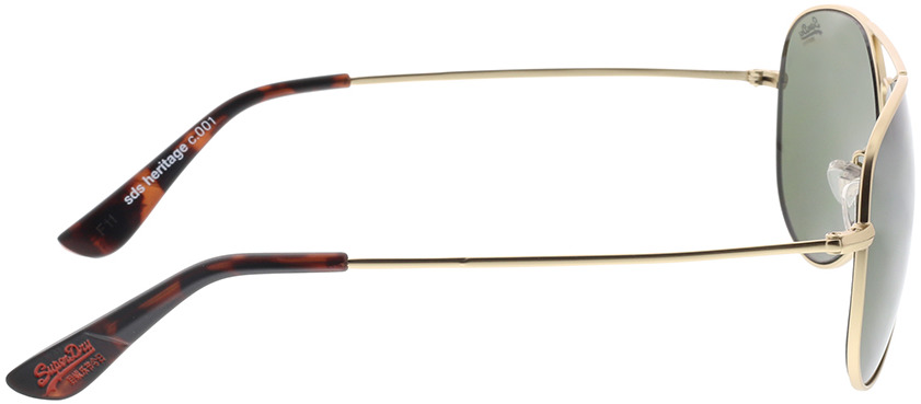 Picture of glasses model Superdry SDS Heritage 001 oren 58-16 in angle 90