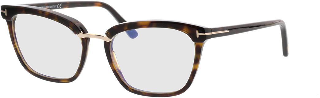 Picture of glasses model Tom Ford FT5550-B 052 in angle 330