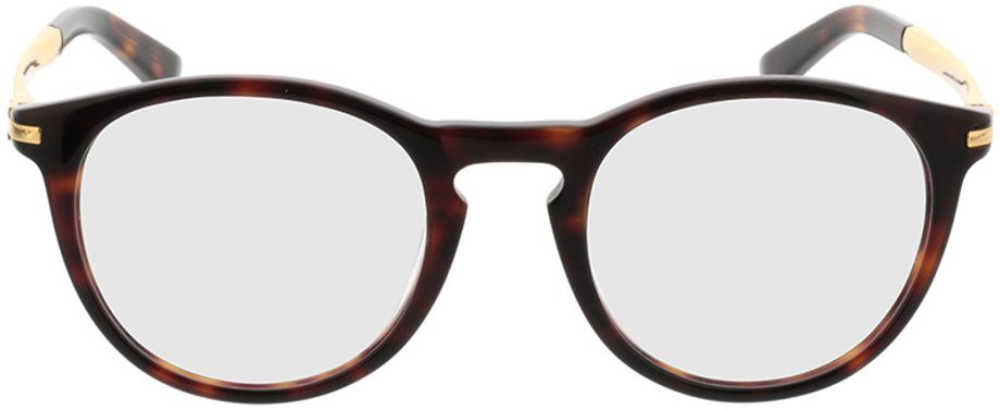 Picture of glasses model Tokio-brown-mottled-gold in angle 0