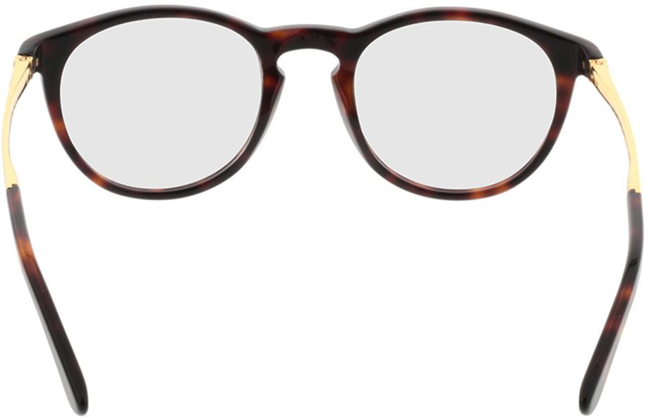 Picture of glasses model Tokio-brown-mottled-gold in angle 180