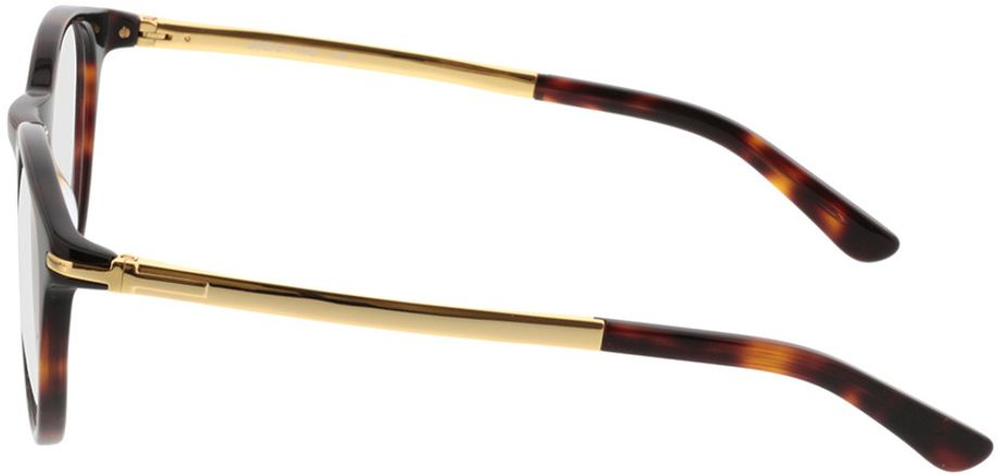 Picture of glasses model Tokio-brown-mottled-gold in angle 270