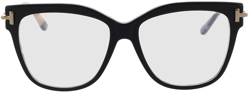Picture of glasses model Tom Ford FT5704-B 005 54-15 in angle 0