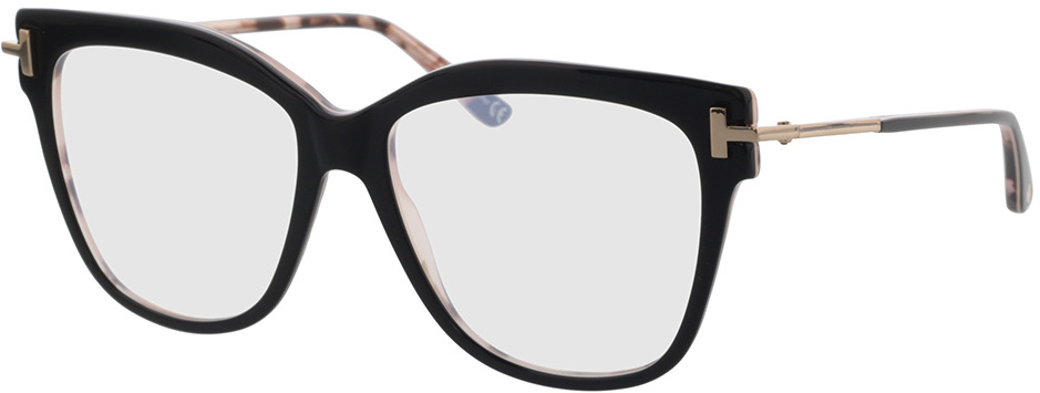 Picture of glasses model Tom Ford FT5704-B 005 54-15 in angle 330