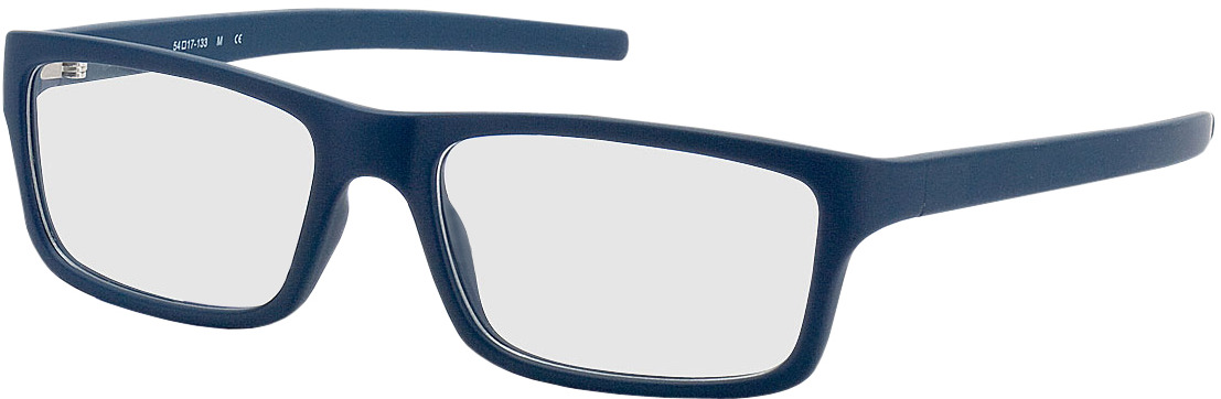Picture of glasses model Nador dark-blue in angle 330