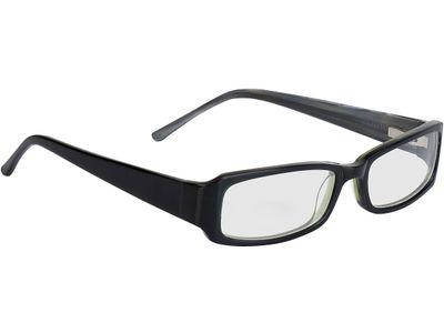Brille Avellino-schwarz/dunkelgrün
