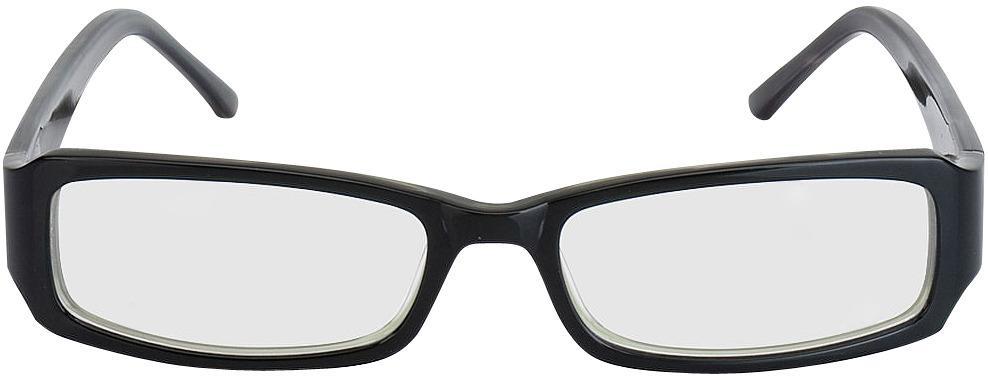 Picture of glasses model Avellino zwart in angle 0