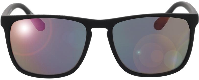 Picture of glasses model Superdry SDS Shockwave 127 matte black rubberised 55-17 in angle 0