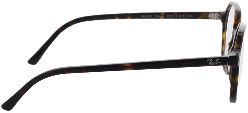 Picture of glasses model Ray-Ban RX5395 2012 51-18 in angle 90