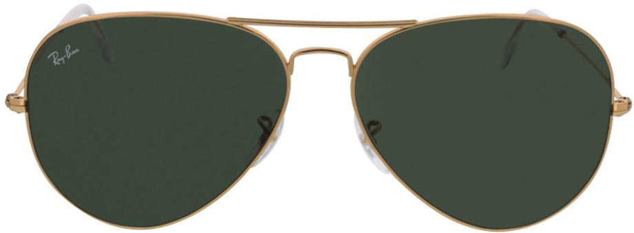 Picture of glasses model Ray-Ban Aviator RB3025 001 62-14 in angle 0